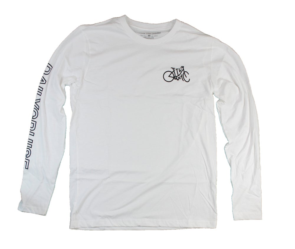 Image of DailyCruiser Long Sleeve (White)