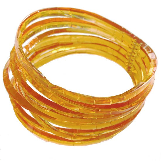 Image of waterhole cuff - barley sugar