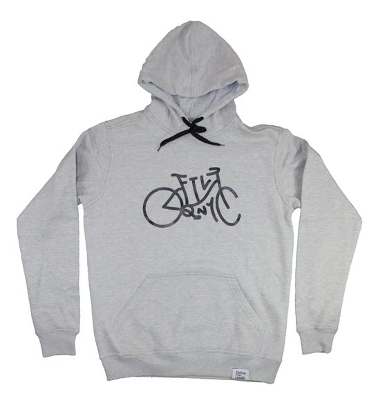 Image of Cruiser Hooded Sweatshirt (Grey)