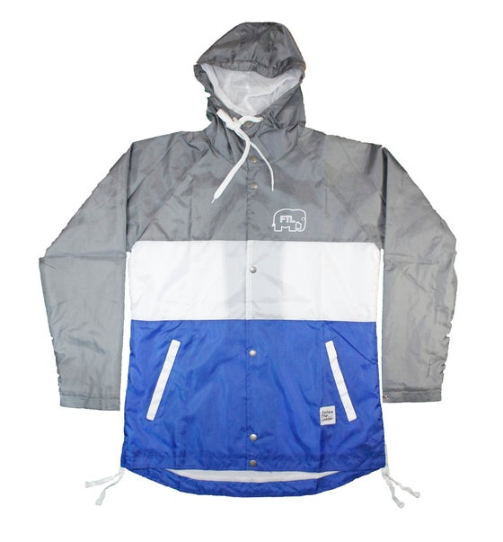 Image of Elephant Hooded Windbreaker