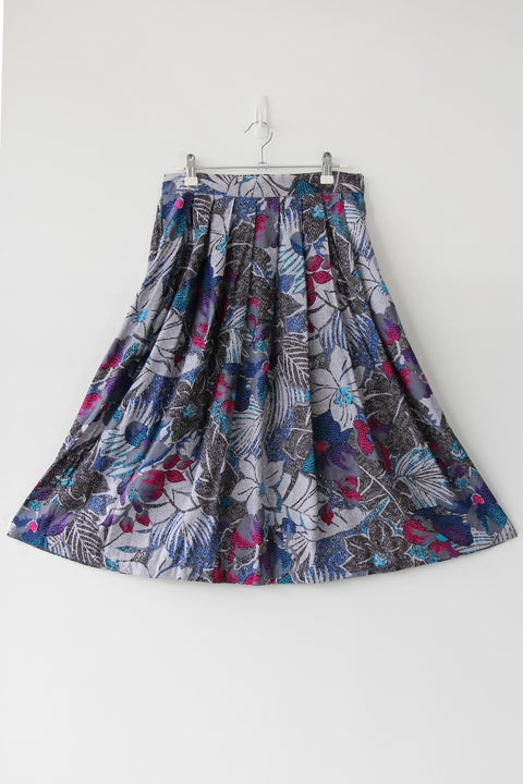 Image of SOLD Bursts Of Pink Forest Skirt