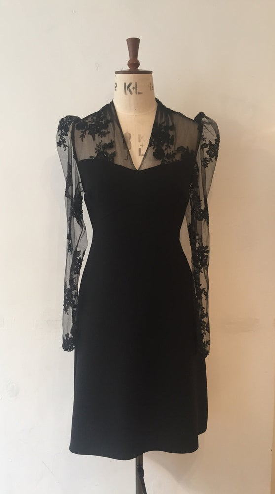 Image of Beaded lace Charlotte dress