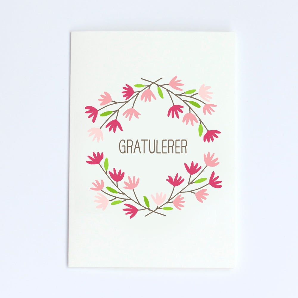 Image of Floral Card 1