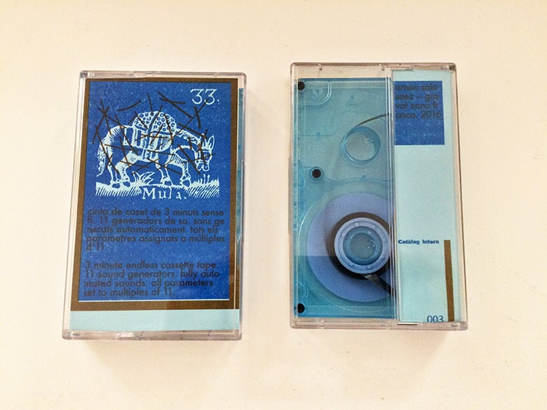 "Image of 33. Mula — Endless 3"" Loop Cassette Tape — Limited to 22"