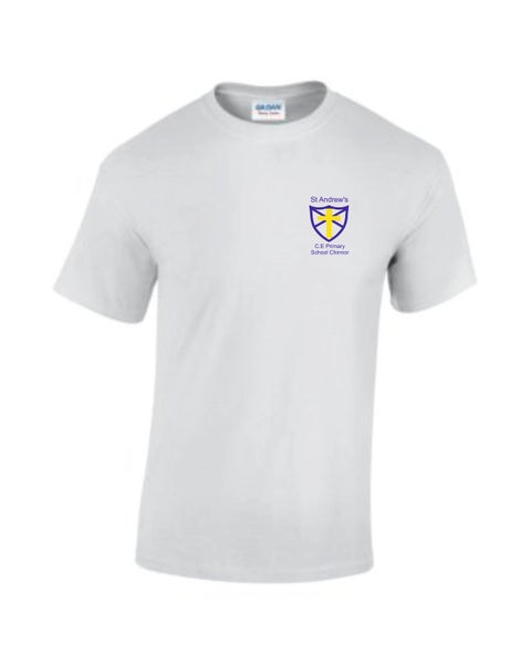 Image of St Andrews CE P.E T-Shirt White