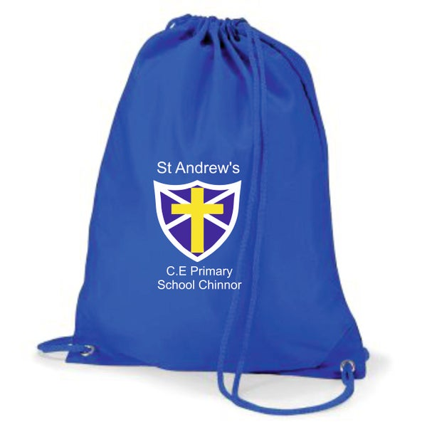 Image of St Andrews CE Drawstring P.E Sack