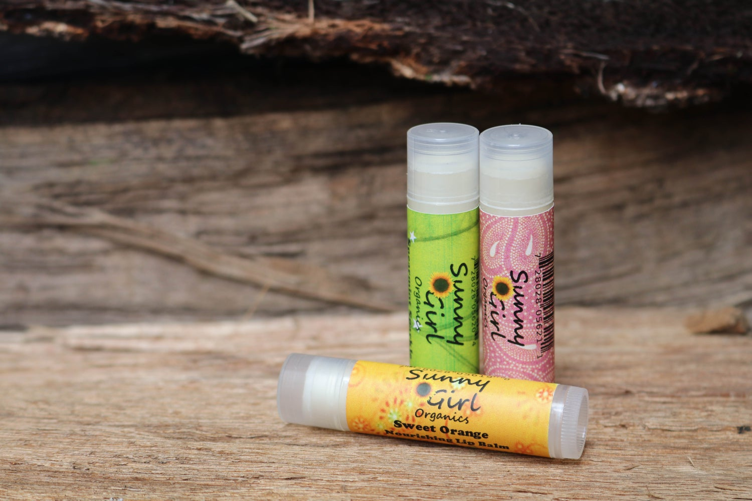 Image of Organic Sweet Orange Lip Balm