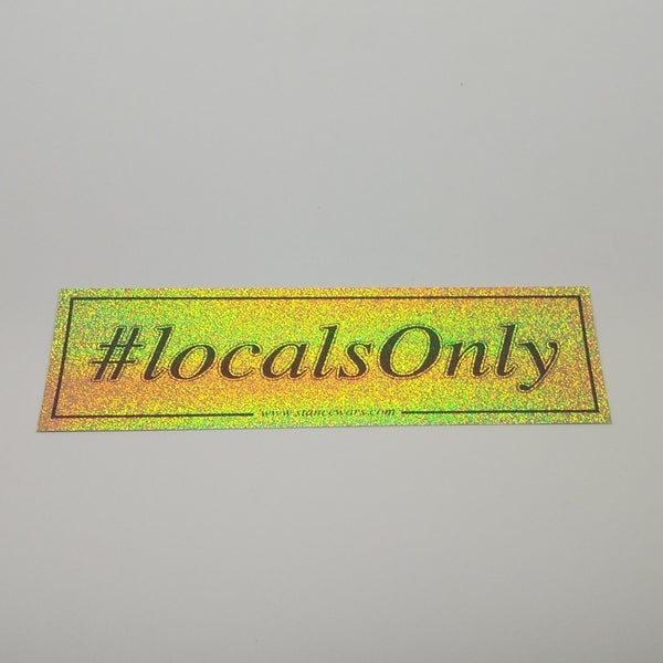 Image of HashTag Slaps - #LOCALSONLY
