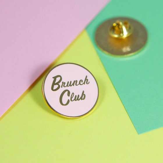 Image of Brunch Club Enamel Pin
