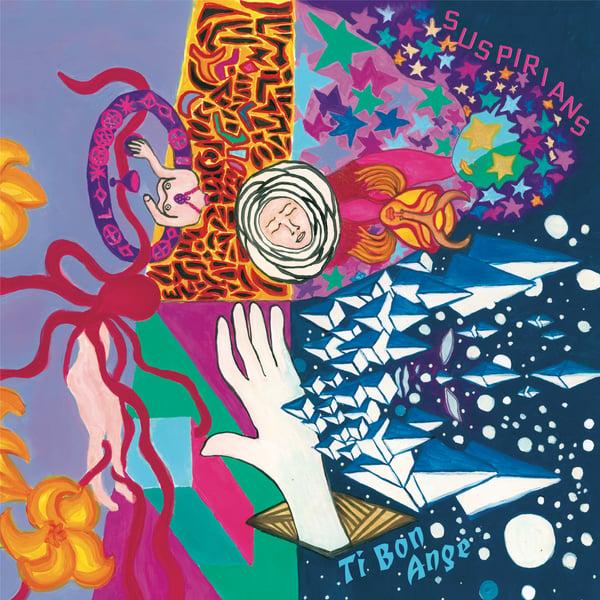 """Image of Suspirians """"Ti Bon Ange"""" album"""