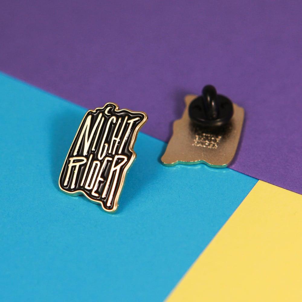 Image of Night Rider Enamel Pin