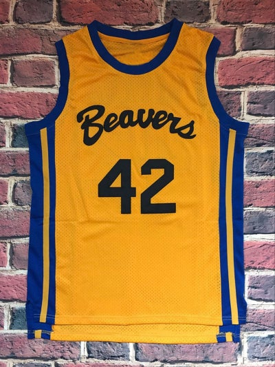 Image of HOWARD 42 BASKETBALL JERSEY BEAVERS TEEN WOLF MOVIE MICHAEL J FOX