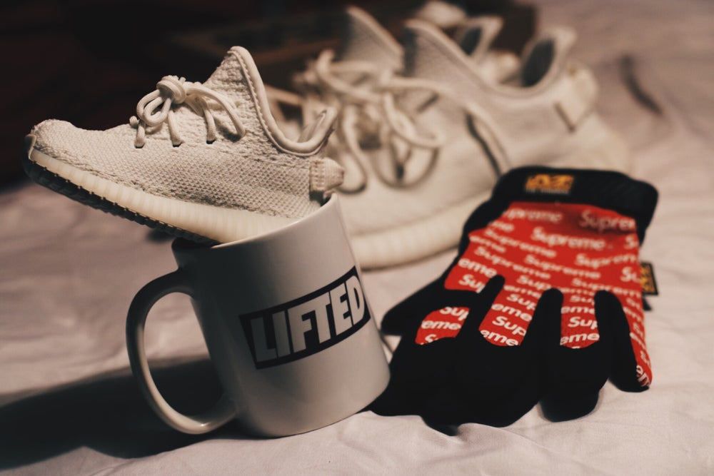 Box Logo Coffee Cup