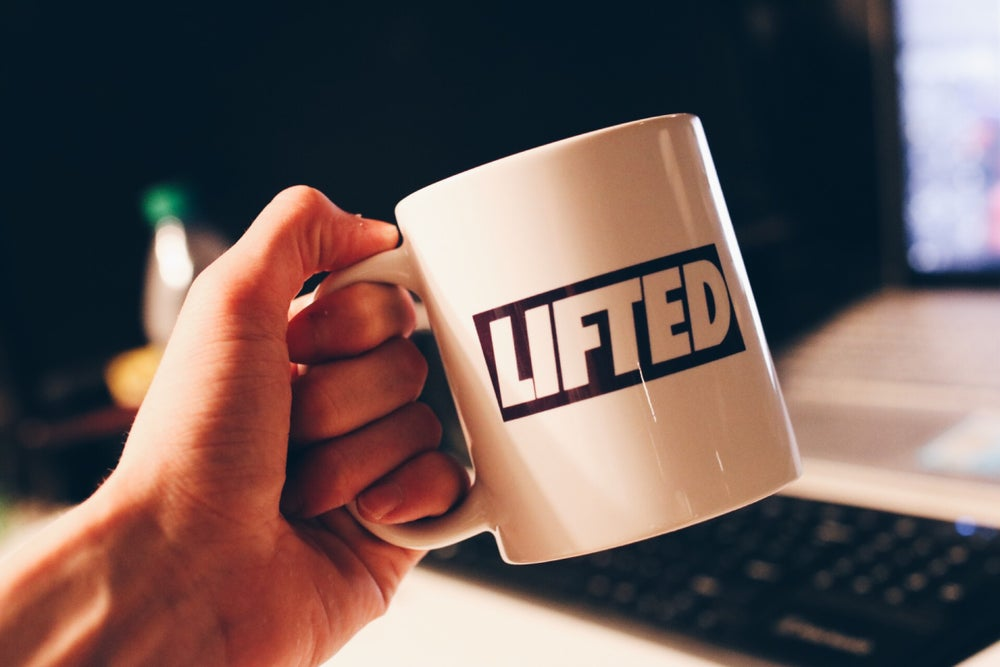 Image of Box Logo Coffee Cup