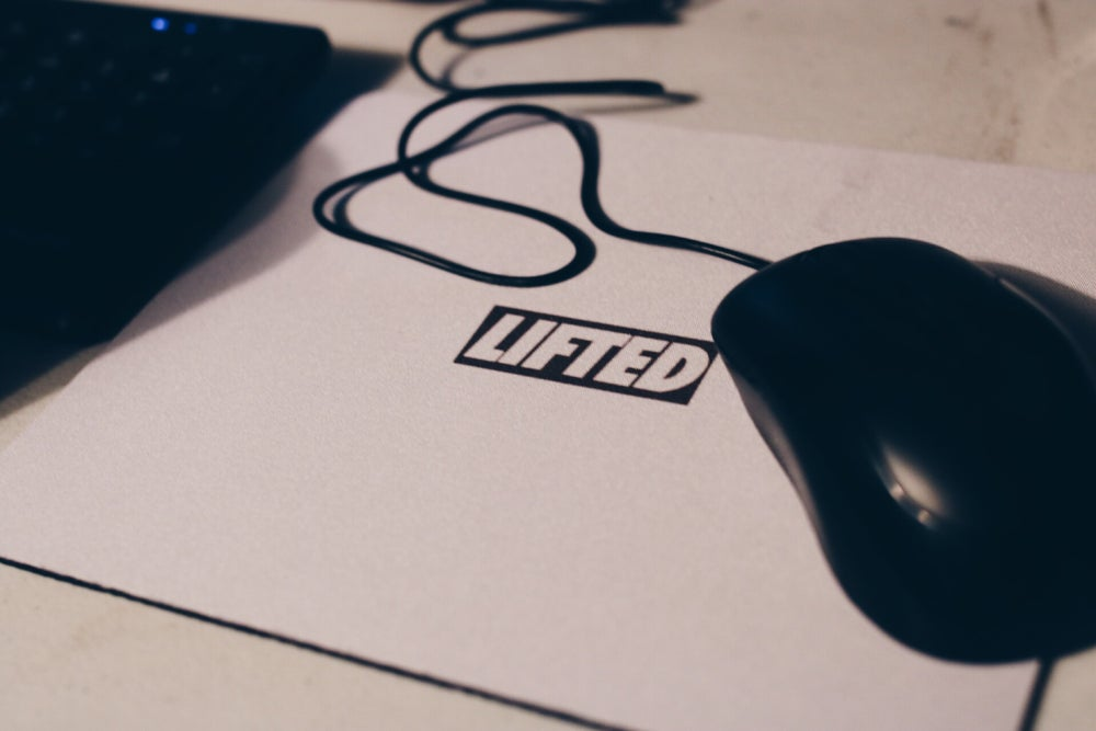 Image of Mini Logo Mouse Pad
