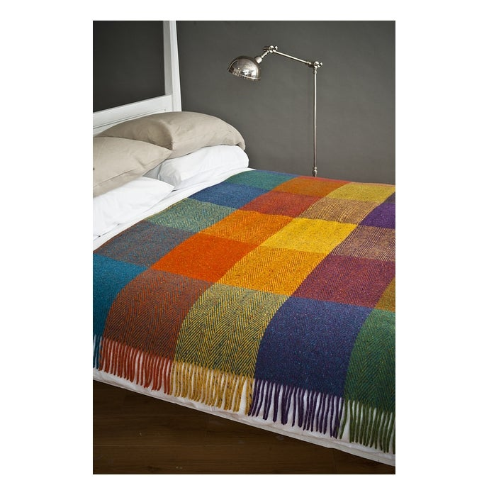 Image of Heavy Herringbone Circus Throw