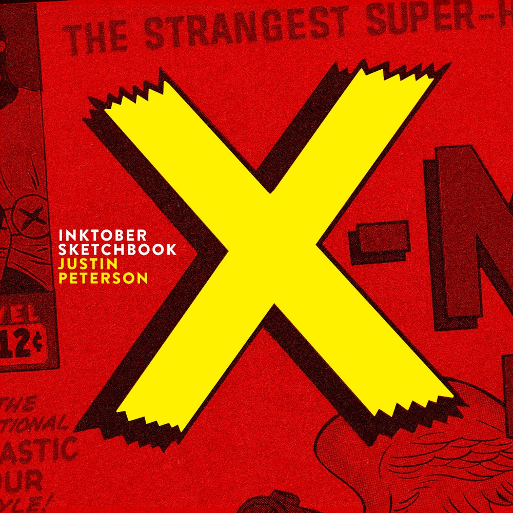 Image of INKTOBER SKETCHBOOK: X