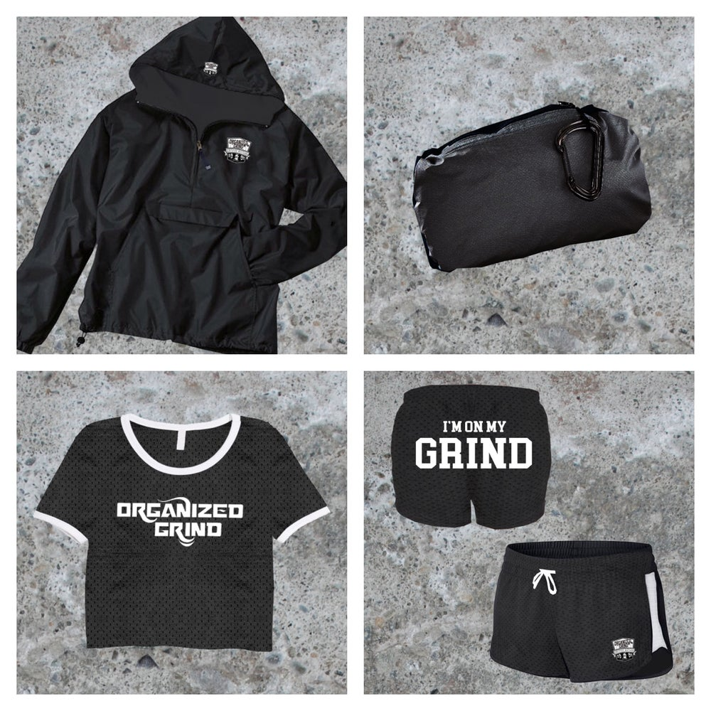 Image of OG Classic Windbreaker & Womans Crop Top Jersey/Shorts