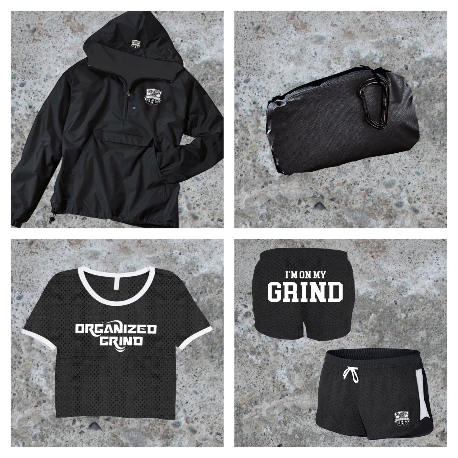 Image of Classic OG Windbreaker & Womans Crop Top Jersey/Shorts