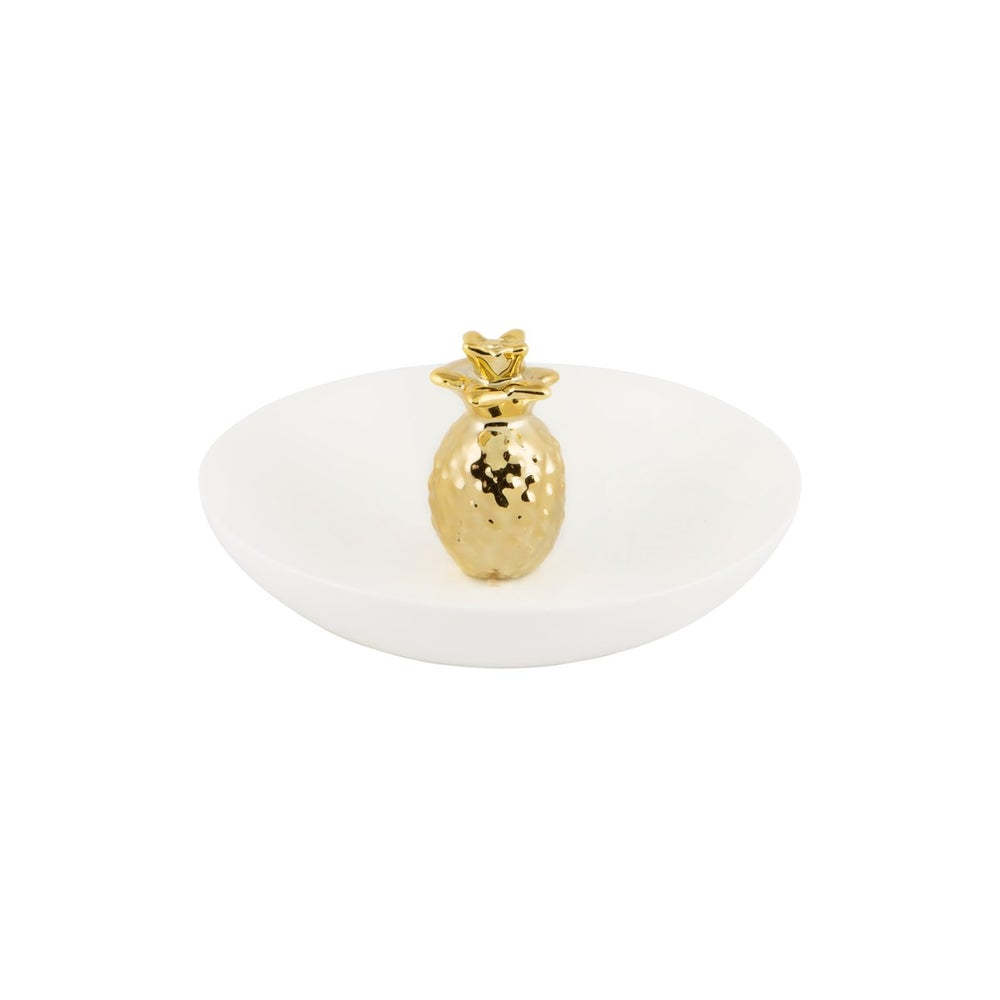 Image of Gold Pineapple Trinket Dish
