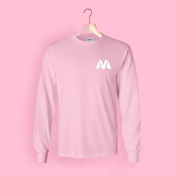 Image of AVA Long Sleeve Tee - Pink