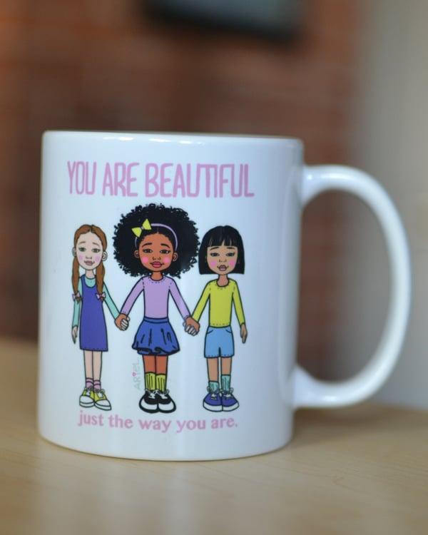 Image of You are Beautiful Mug