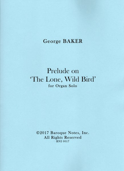 Image of Prelude on 'The Lone, Wild Bird'