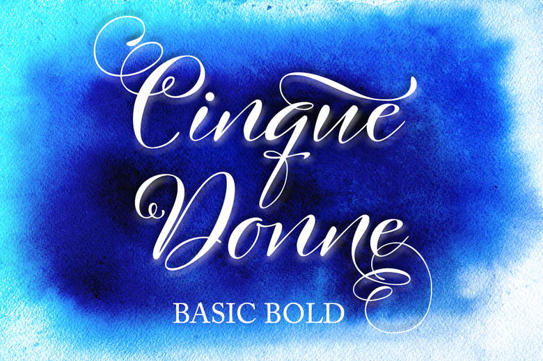 Image of Cinque Donne Basic Bold