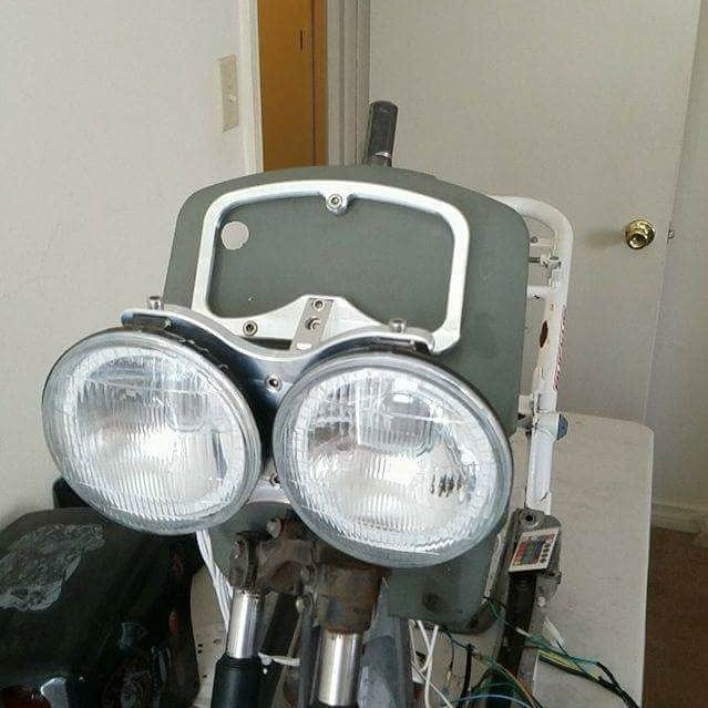 Image of Honda Ruckus Floating Headlight Bracket