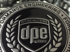 Image of *Limited Quantity* Embossed DPE Center Caps (Qty 4)