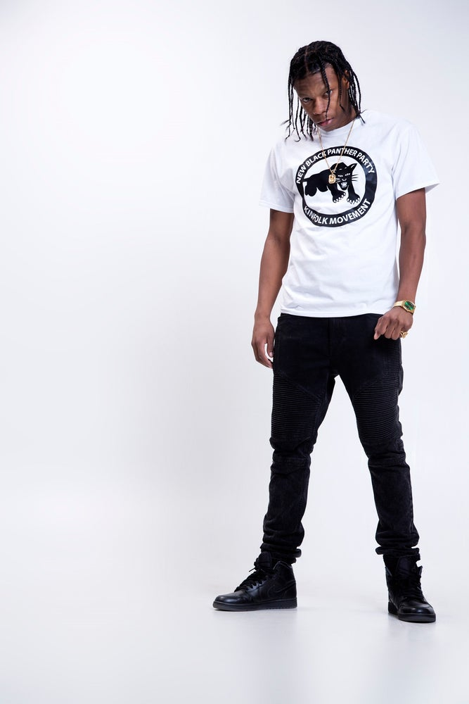 Image of White New Black Panther Party Kinfolk Movement (Unisex)