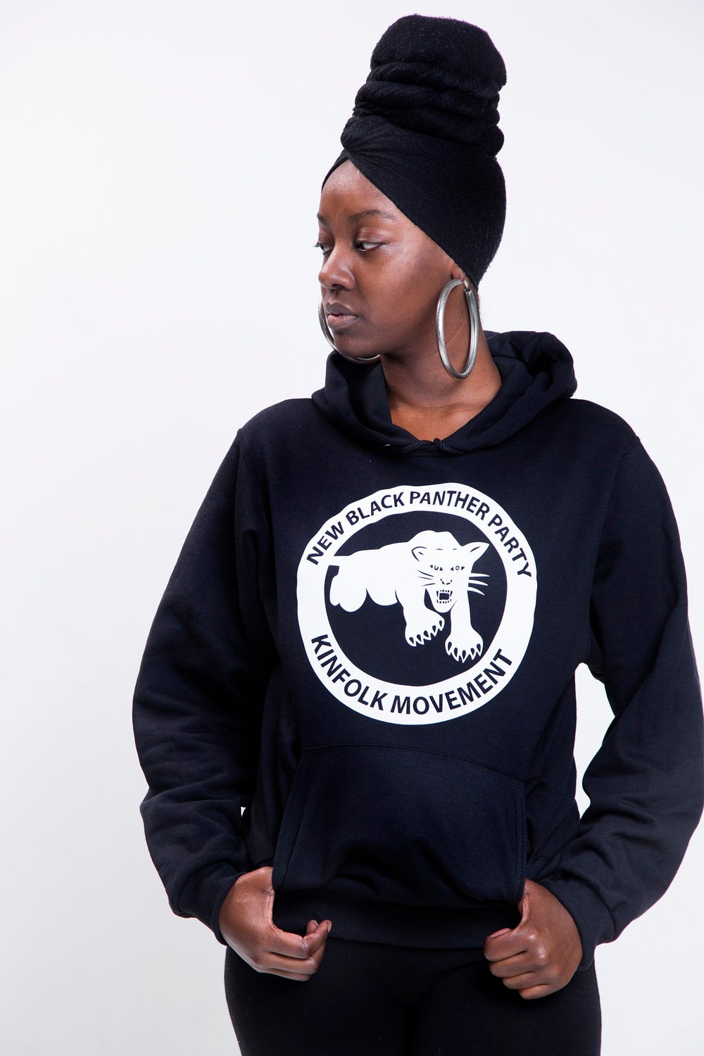 Image of New Black Panther Party Kinfolk Movement Hoodie