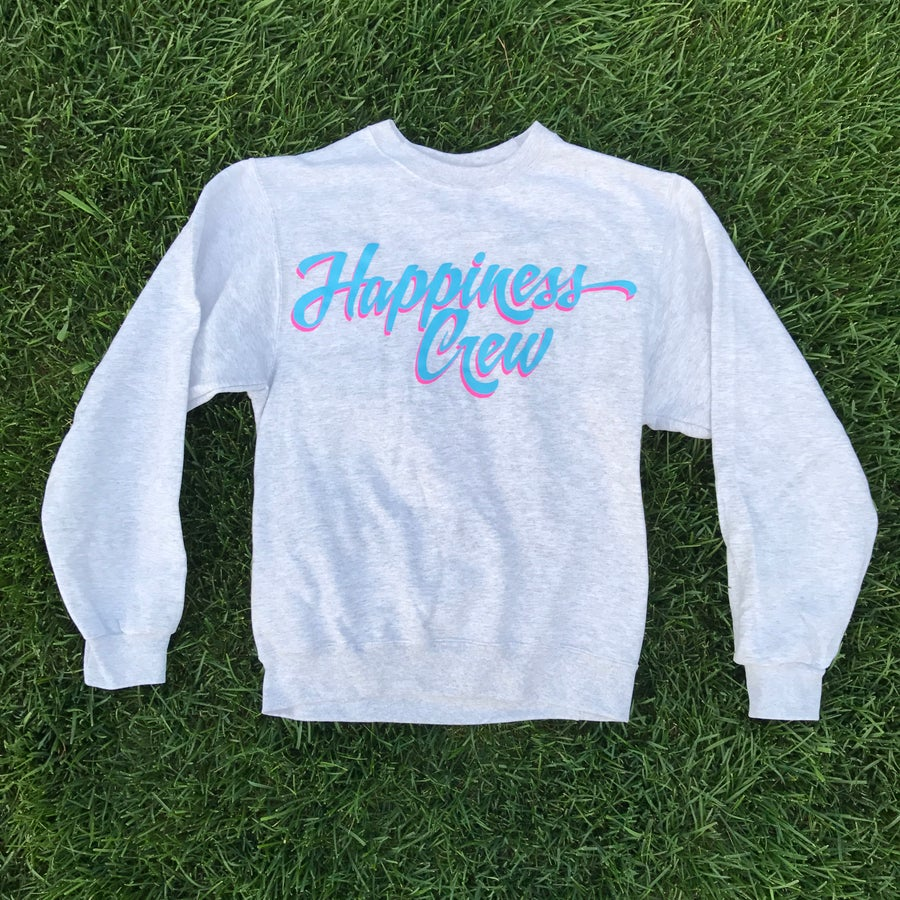Image of Retro Happiness Crew Sweater