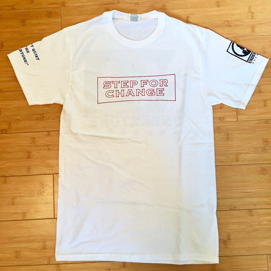 Image of Step For Change 4-Sided Shirt