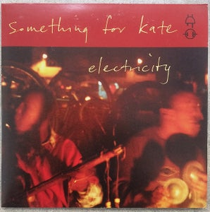 Image of Something for Kate - 'Electricity' 7 inch x 2 vinyl double single. ORIGINAL PRESSING