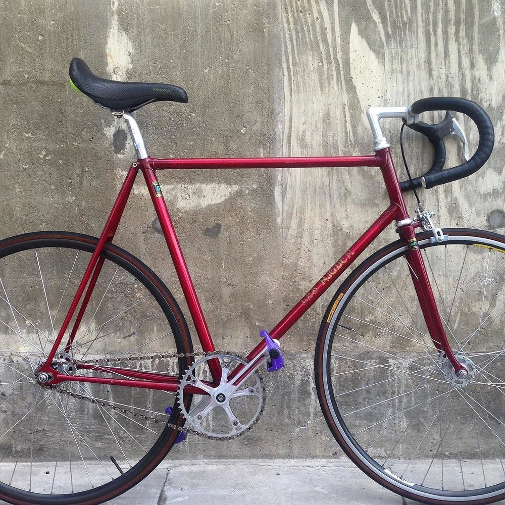 Image of Les Rigdon track bike  ( Brighton builder) 57.5 seat ctc 57cm top