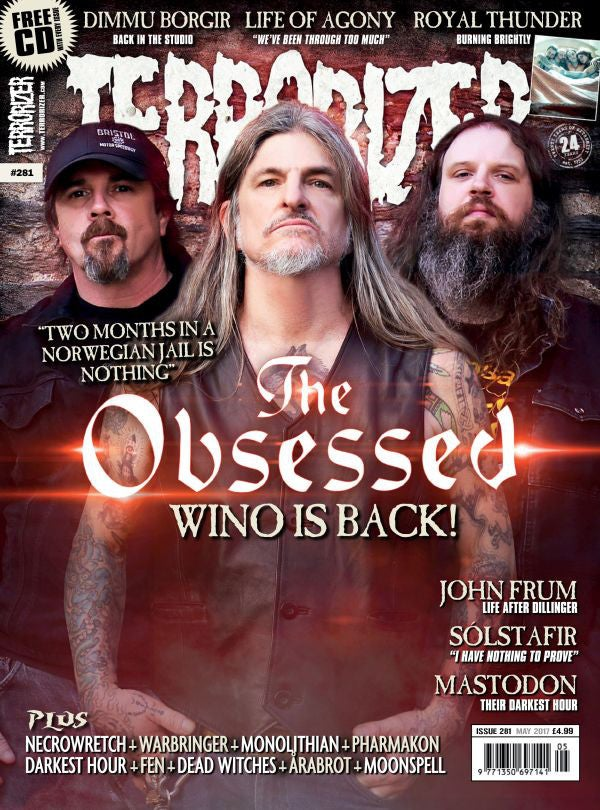 Image of Terrorizer 281 The Obsessed