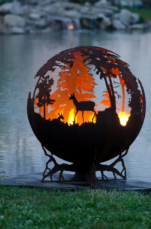 Image of DEEP FOREST – FIRE PIT GLOBE