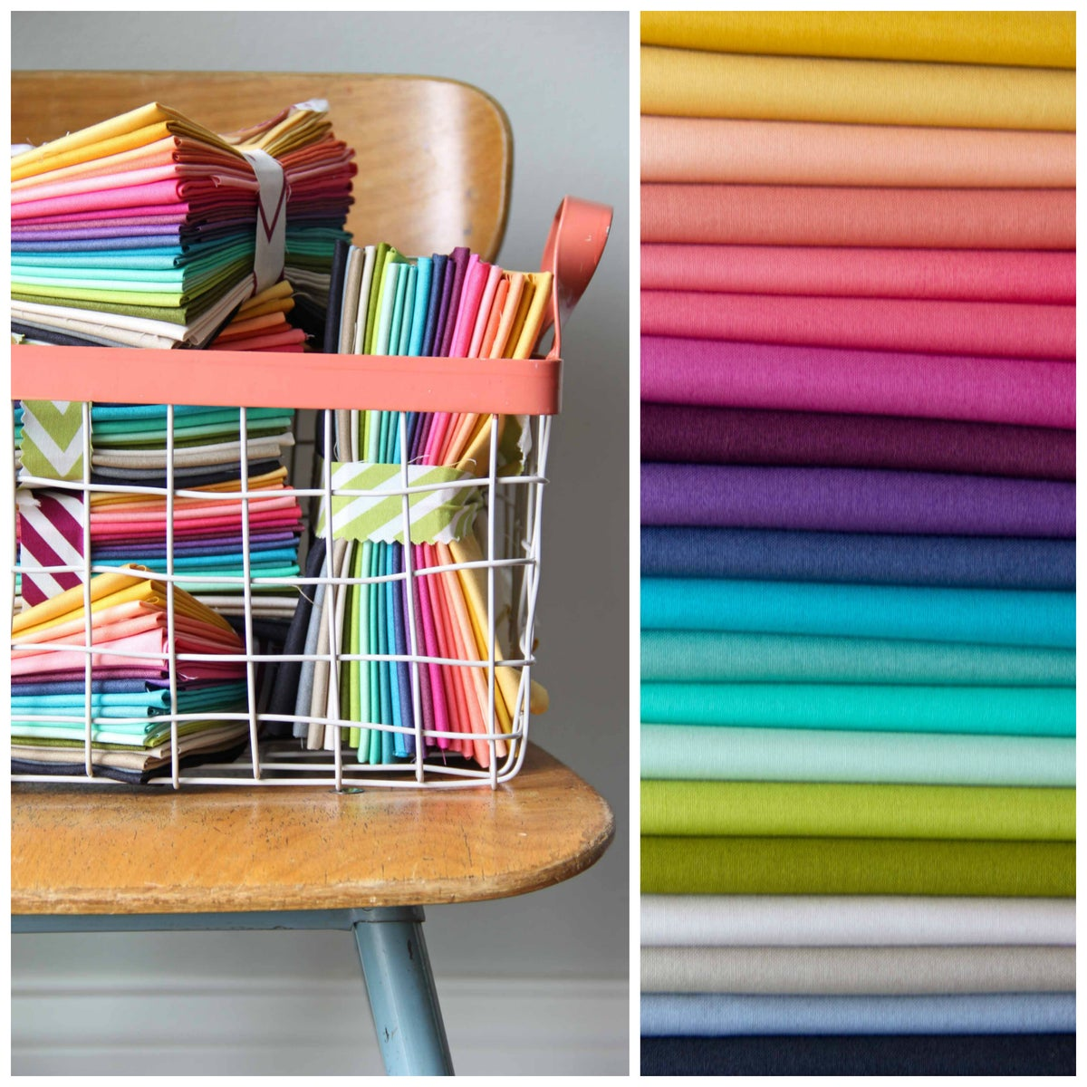 V And Co 1 2 Yard Ombre Fabric Bundle
