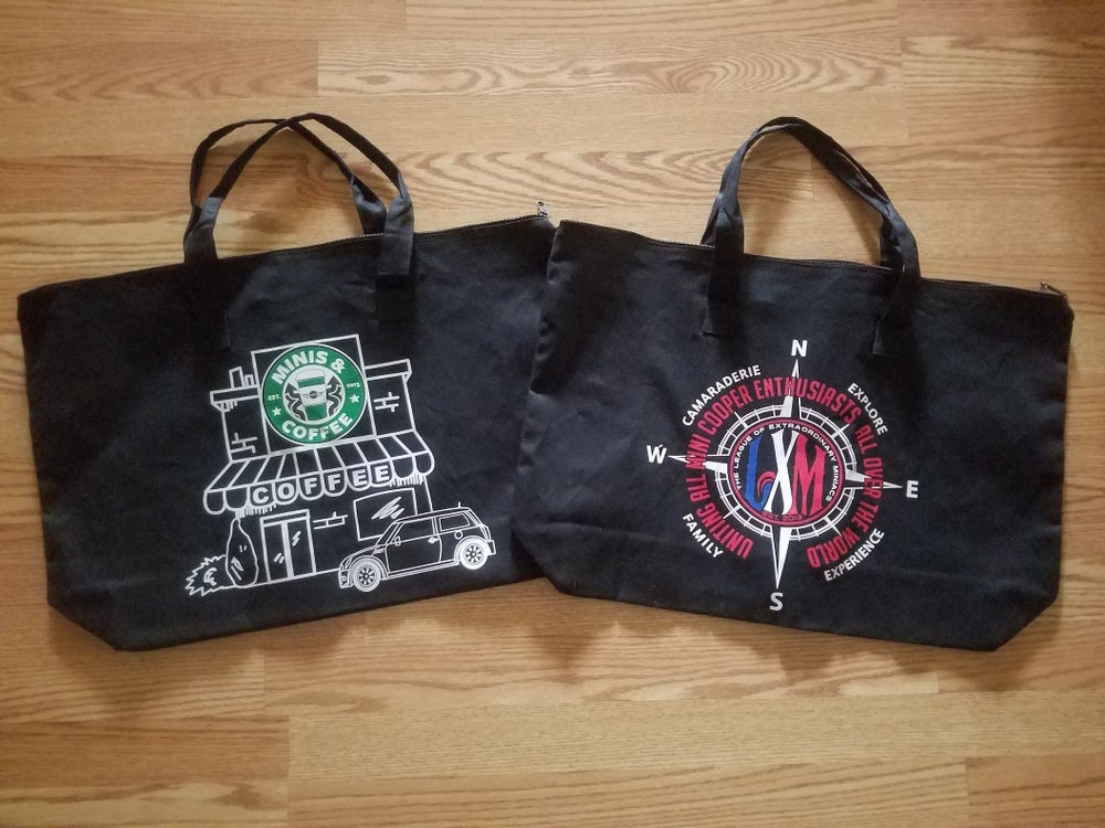 Image of LXM OR MINIS & COFFEE CANVAS TOTE