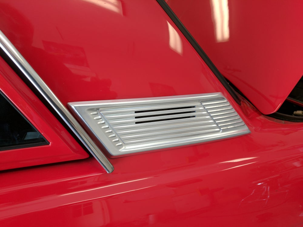 Image of 510 C-Pillar Vents smooth style machined finish