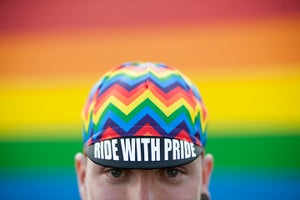 Image of RIDE WITH PRIDE CAP - PREORDER