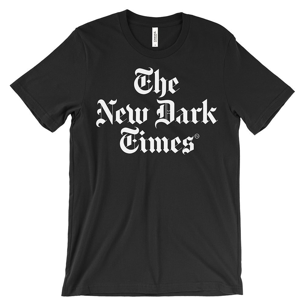 Image of The New Dark Times Black T-shirt