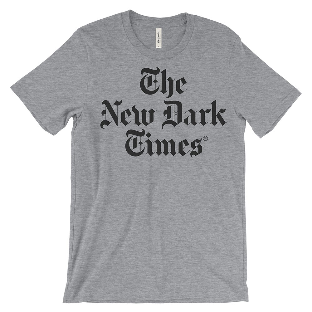 Image of New Dark Times Athletic Heather T-Shirt