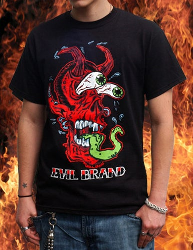 Image of Demon Fink Shirt (A Brimm + Evil Brand Collab)