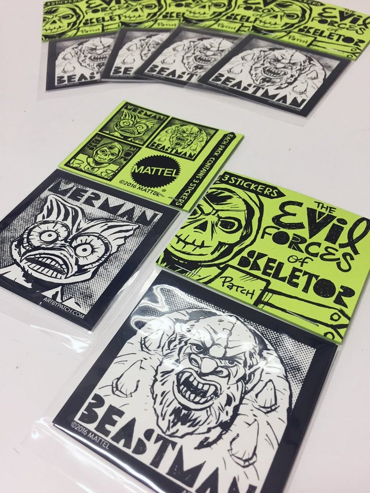 "Image of ""Evil Forces of Skeletor"" Sticker Pack by Patch"