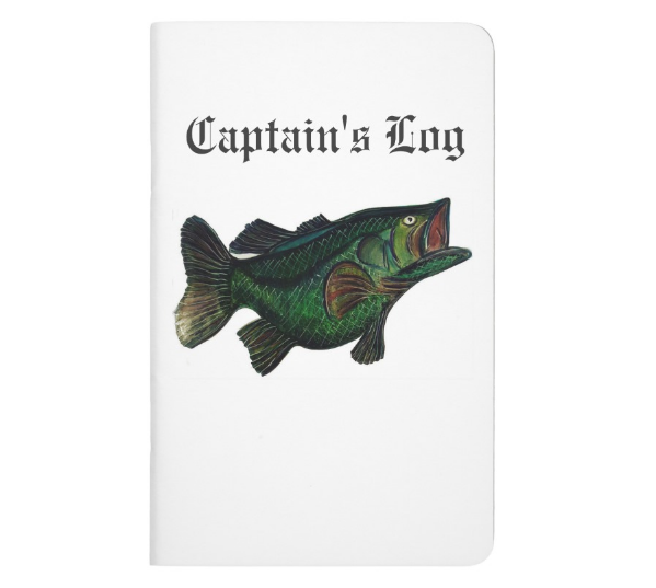 Image of Captain's Fishing Log - Bass