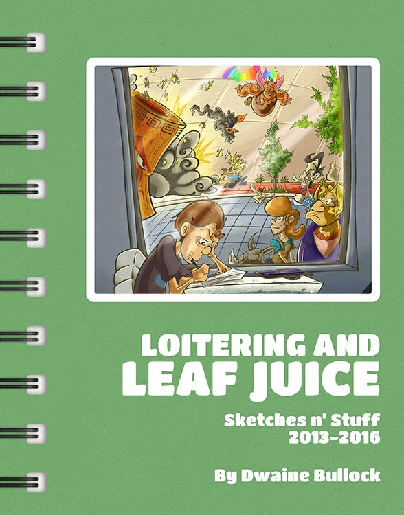 Image of Loitering and Leaf Juice