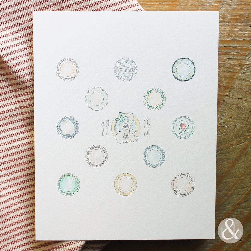 Image of Set The Table - Print
