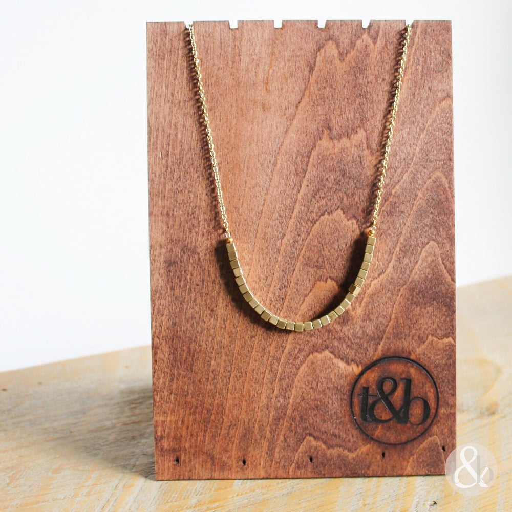 Image of Highlights Necklace - Gold
